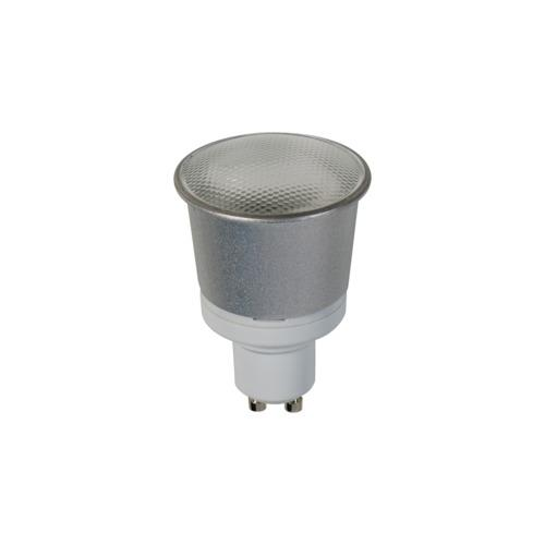 1256 7W Fluorescent Low Energy GU10 Bulb