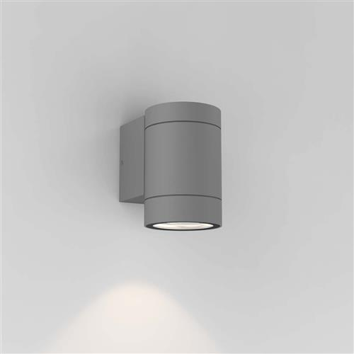 Dartmouth IP54 Textured Grey Single Outdoor Wall Light 1372010 (8537)