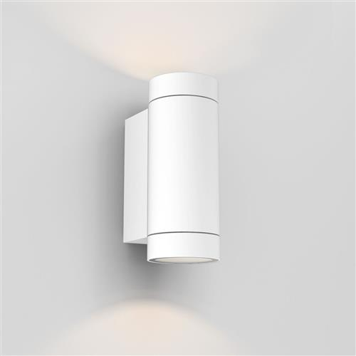 Dartmouth LED Textured White Twin Outdoor Wall Light 1372012 (8539)