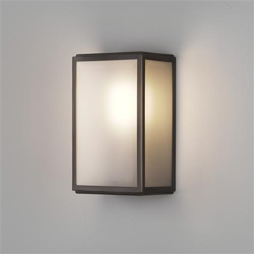 Homefield IP44 Bronze Plated Outdoor Wall Light 7875