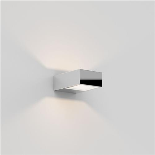 Kappa IP44 LED Rectangular Polished Chrome Bathroom Wall Light 8162