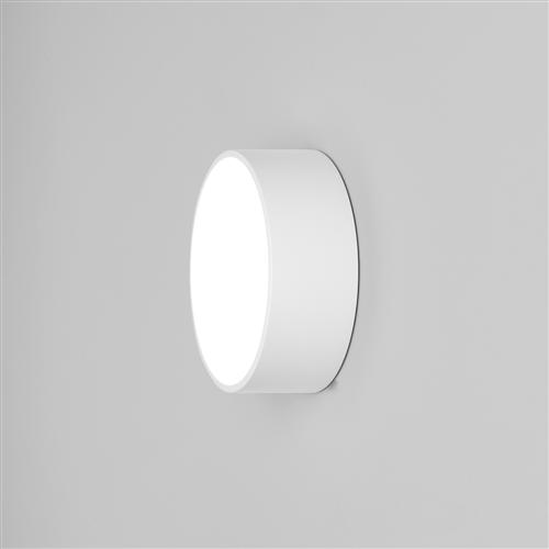 Kea 150 Round White IP65 Outdoor Wall light 1391001 (8019)