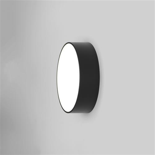 Kea Black Round LED IP65 Outdoor Wall Light 1391004 (8022)