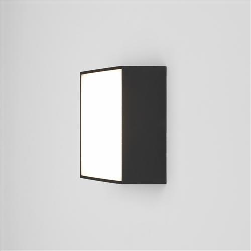 Kea Square LED 140 Black IP65 Outdoor Wall Light 1391006 (8024)