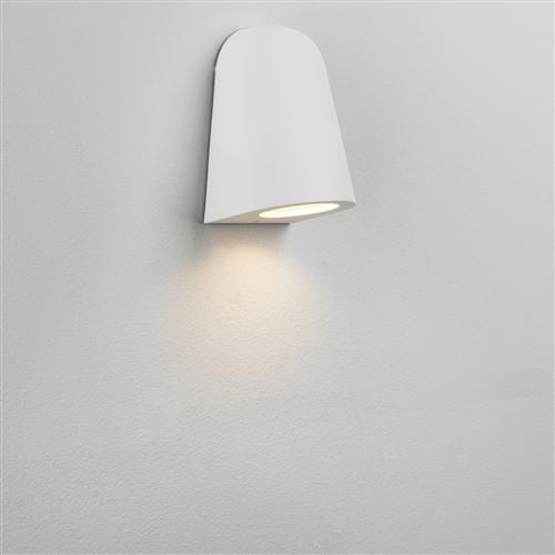 Mast Matt White IP65 Outdoor Wall Light 1317012 (7965)