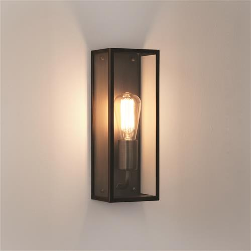 Messina 130 Bronze Outdoor Wall Lantern 1183018 (8279)