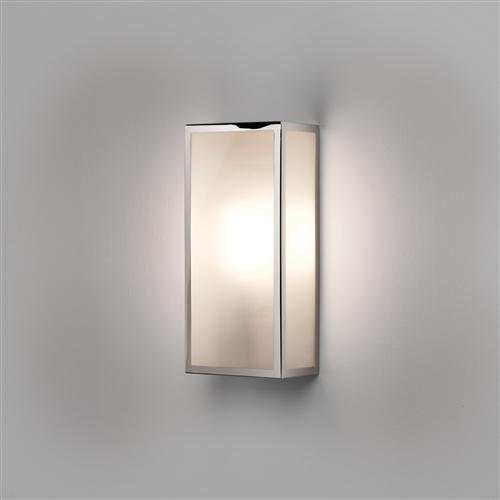 Messina Frosted Polished Nickel Outdoor wall light 1183010 (7871)