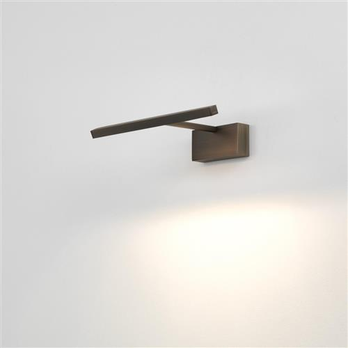 Mondrian 300 Small Bronze Effect LED Picture Light 1374016