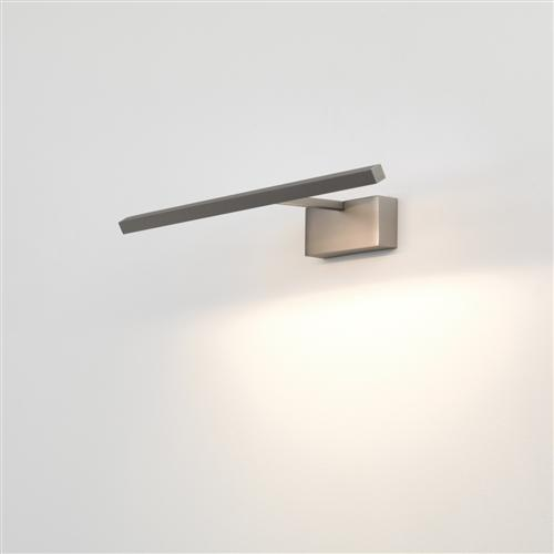 Mondrian Medium LED 400 Matt Nickel Tilting Wall Light 1374001 (7884)