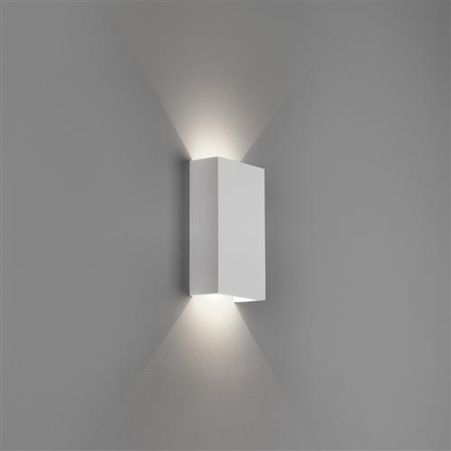 Rio Led 125 Rectangular White Wall Washer Light 1325007 7936 The Lighting Superstore