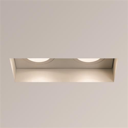 Trimless White Adjustable Recessed Ceiling Downlight 1248008 (5681)