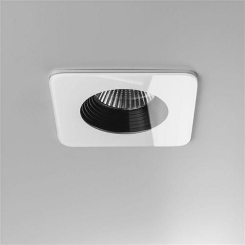 Vetro 3000k Led Bathroom Square Recessed Ip65 Downlight