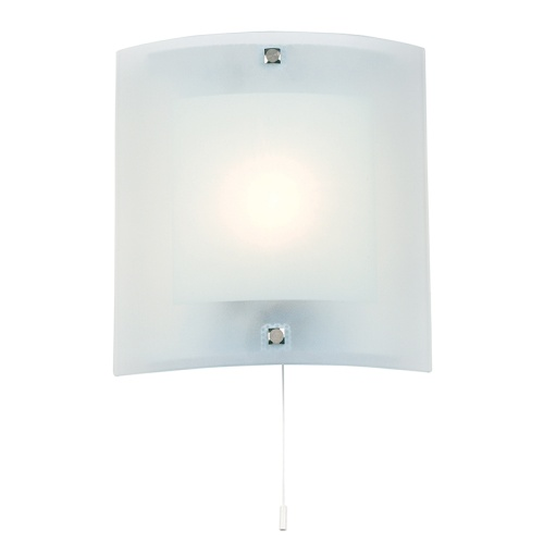 Square Frosted Glass Wall Light 143-Wb The Lighting Superstore