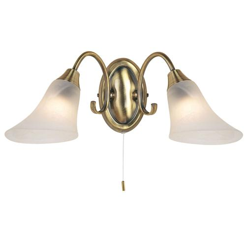 Hardwick Antique Brass Wall Light 144-2An