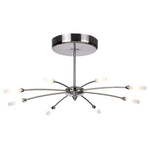 Steel Multi Arm Ceiling Light 1610 8 The Lighting Superstore