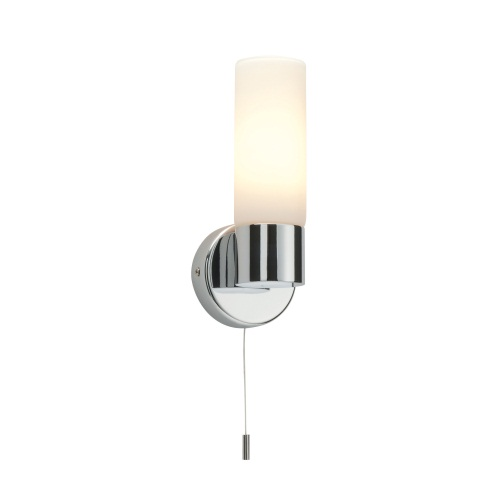 Pure IP44 Rated Chrome Bathroom Wall Light 34483