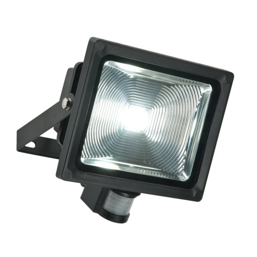 Olea Outdoor Wall PIR Floodlight 48746