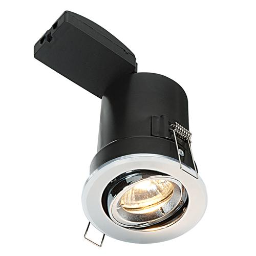 50682 Shieldplus MV Tilt Fire Rated Recessed Downlight