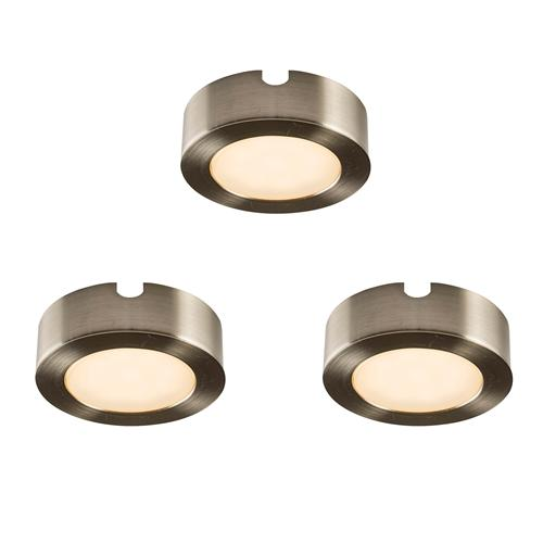 Hera Led 3 Pack Of Under Cabinet Lights The Lighting
