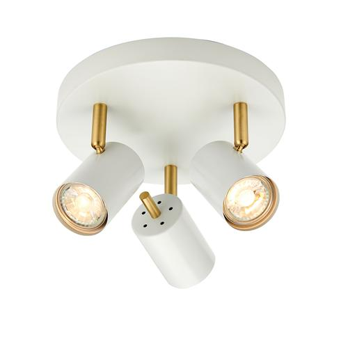 Gull LED Matt White Ceiling Spotlight 59932