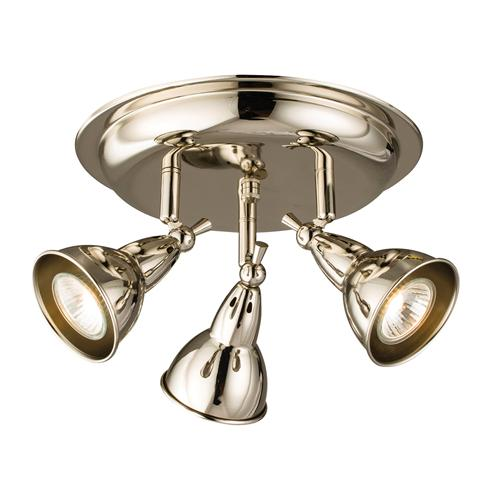 Burbidge LED Three Light Ceiling Spot 59935