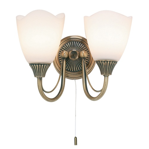 Haughton Traditional Double Wall Light 601-2An