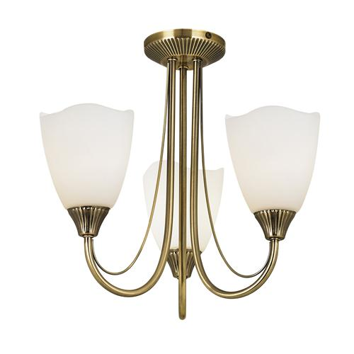 Haughton Semi Flush Ceiling Light 601-3An