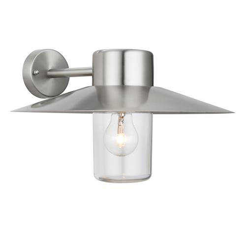 Fenwick Polished Stainless Steel Outdoor Wall Light 60797