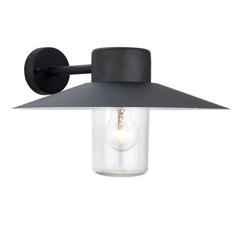 60798 Fenwick Black IP44 Outdoor Wall Light