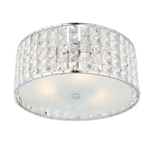 Bathroom Ceiling Lights Crystal Square : Belfont ip crystal bathroom ceiling light the