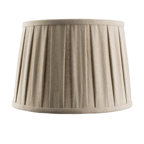 "61348 Cleo 10"" Box Pleated Drum Shade"