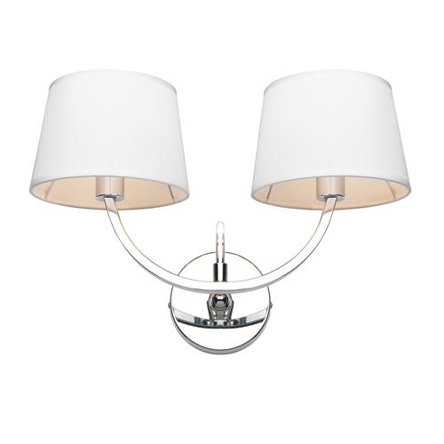 Macy Twin Light Wall Fitting 61708