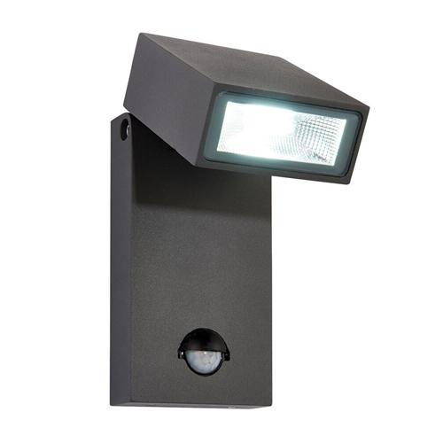Led garden lights the lighting superstore morti outdoor wall light with pir sensor 67686 mozeypictures Gallery