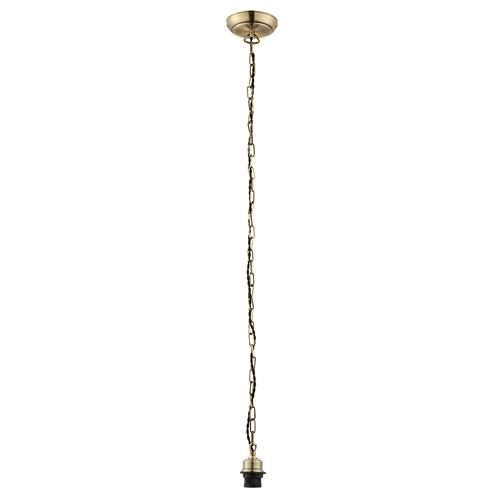 Antique Brass Cable Suspension Set 68835