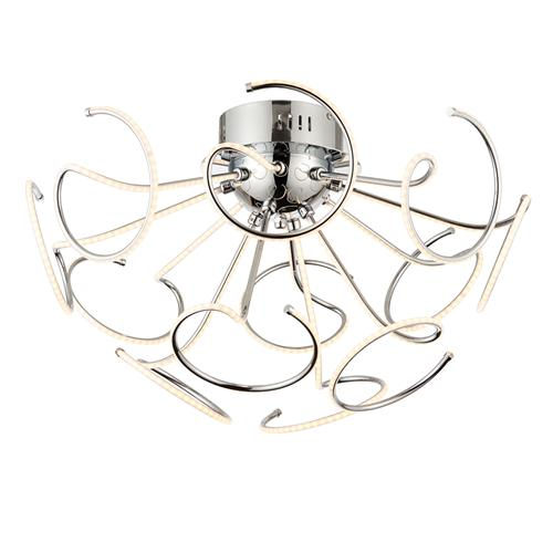68883 Sandy LED Semi-Flush 12 Light