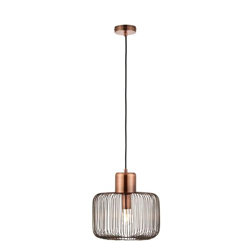 Nicola Antique Copper 1 Light Pendant 68986