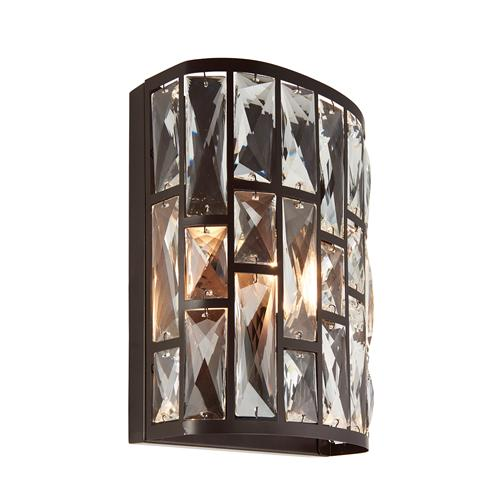 Belle Single Crystal Wall Light 69392