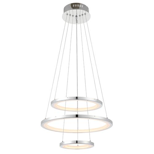 69401 Hemsworth LED 3 Ring Pendant
