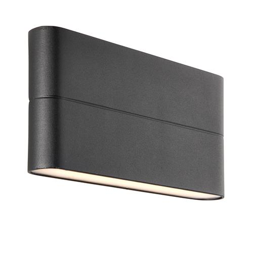 Hanford Outdoor LED Black Wall Light 69929