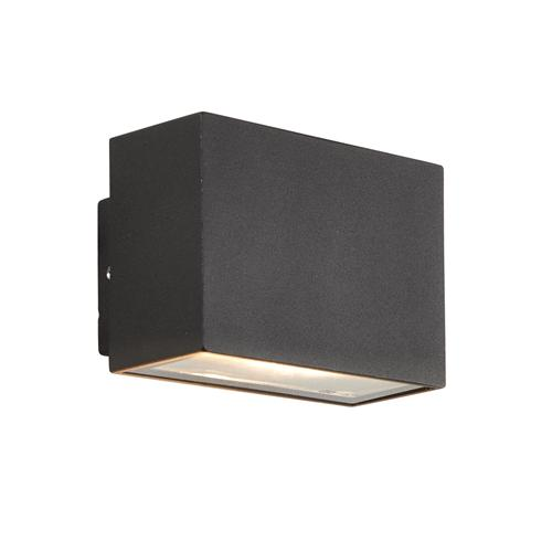 Small kamala outdoor wall light the lighting superstore for Exterior up and down lights led