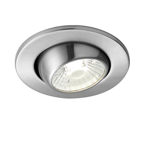 Shield Fire Rated Downlighter In Satin Nickel 70468