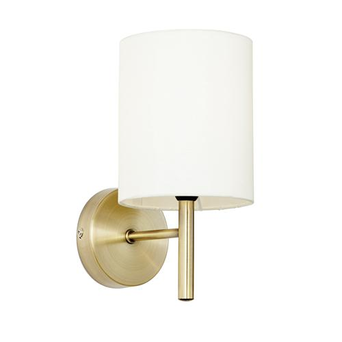 Wall Light Antique Brass Brio-1Wbab