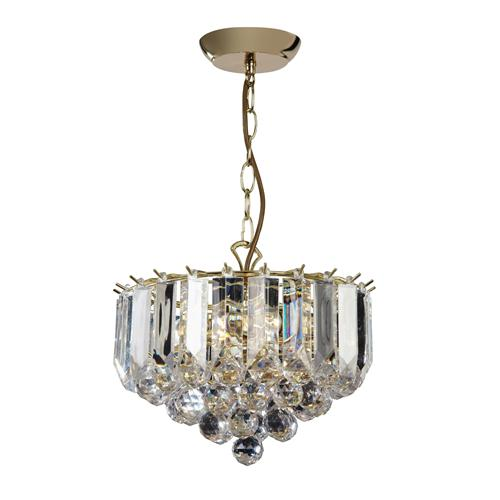 FARGO-12BP Brass Ceiling Pendant