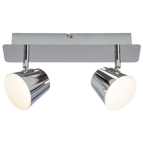 G3222915 Torsion LED Chrome Ceiling 2 Light
