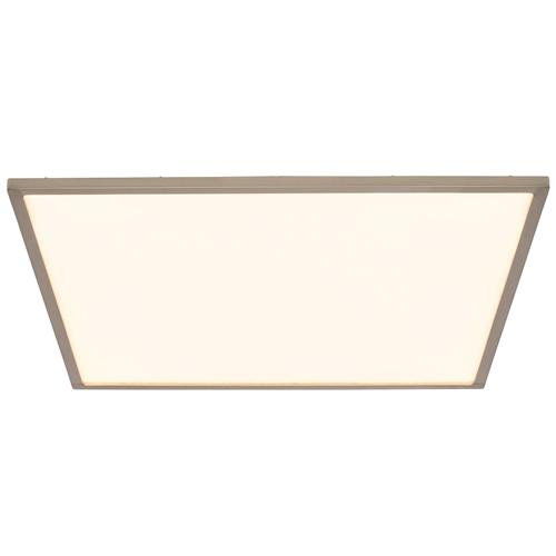 Ceres LED Large Square Satin Nickel Ceiling Light G9446313