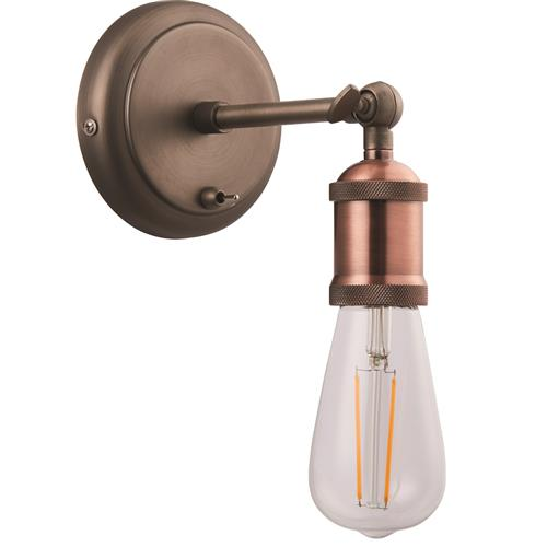 Nieuw Hal Single Lamp Switched Wall Light 76338 | The Lighting Superstore IU-38