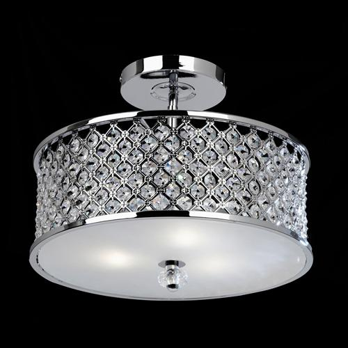 Crystal Ceiling Light Hudson 3Ch