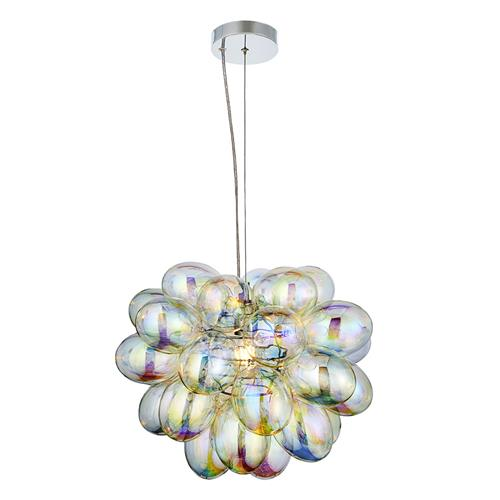 Infinity Chrome Glass Ceiling Pendant 80123