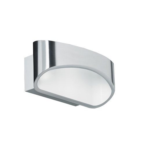Chrome LED Wall Light Johnson-Ch