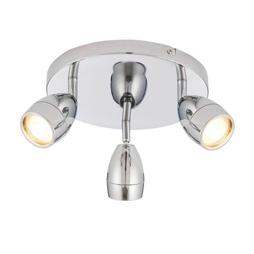 Porto Triple Bathroom Ceiling Spotlight 73692